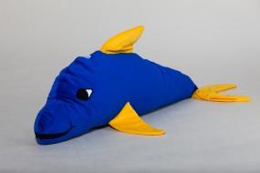 Ersatzbezug Delfini, blau, 100 x 35 cm