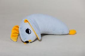 Ersatzbezug Schlafhörnchen Hase Hoppel, hellgrau, 60 x 30 cm