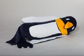Peter Pinguin, natur/anthrazit, 100 x 35 cm + 1 Tommschi Märchenbuch