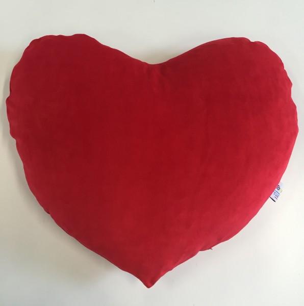 Ersatzbezug Herzi Herz, rot, 70 x 70 cm