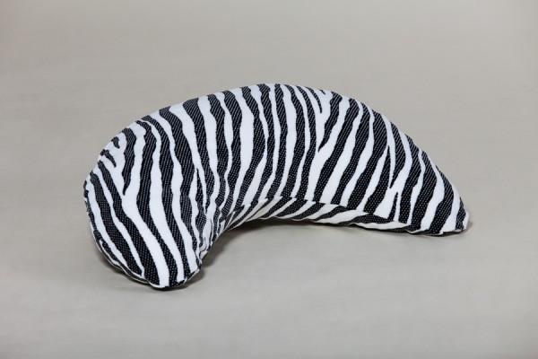 Nackenhörnchen Netti, zebramuster, 60 x 30 cm