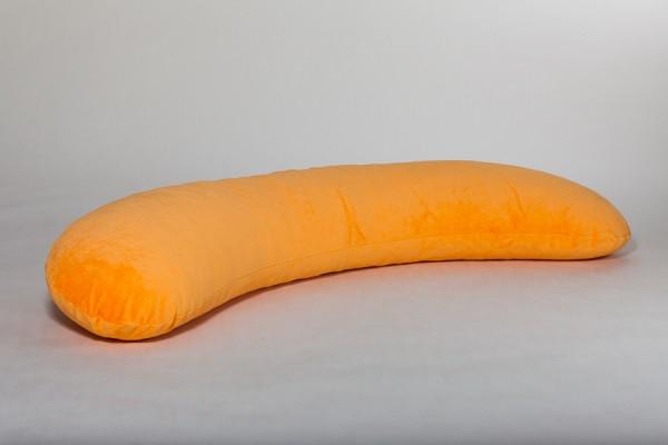 Seitenschläferkissen, orange, 160 x 35 cm