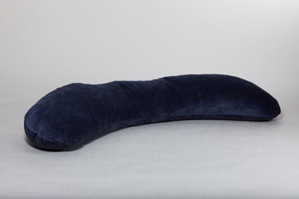 Seitenschläferkissen Netti, anthrazit, 160 x 35 cm