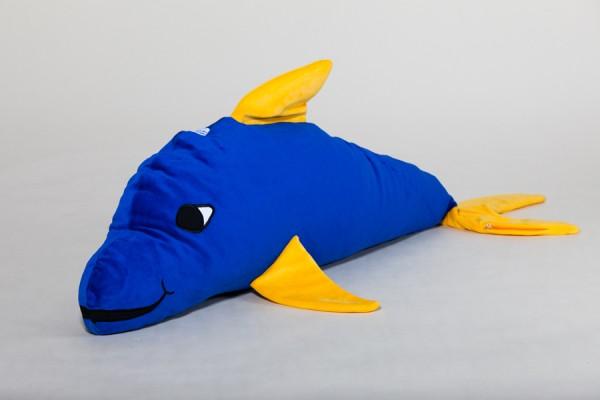 Delfini, royalblau, 100 x 35 cm + 1 Tommschi Märchenbuch